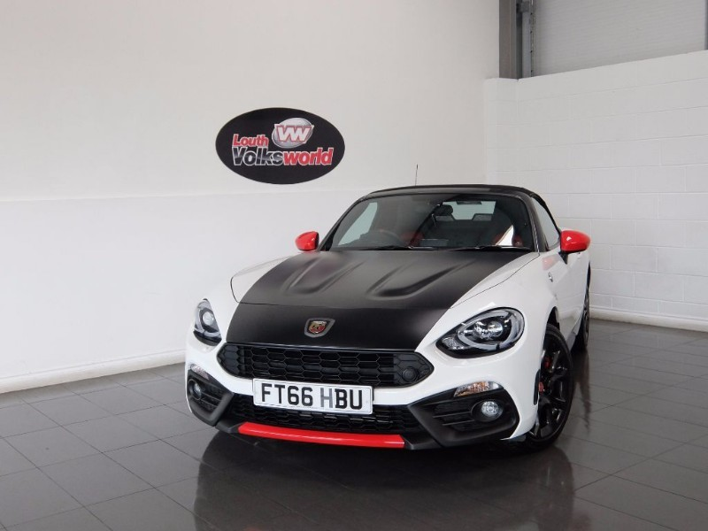 used Abarth 124 Spider ABARTH 124 SPIDER 1.4 MULTIAIR ROADSTER VISIBILTY PACK BOSE STEREO in lincolnshire-for-sale