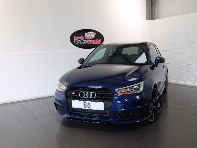 used Audi A1 S1 QUATTRO 231PS BIG SPEC SAT NAV PAN ROOF BLACK PACK QUATTRO EXTERIOR PACK in lincolnshire-for-sale
