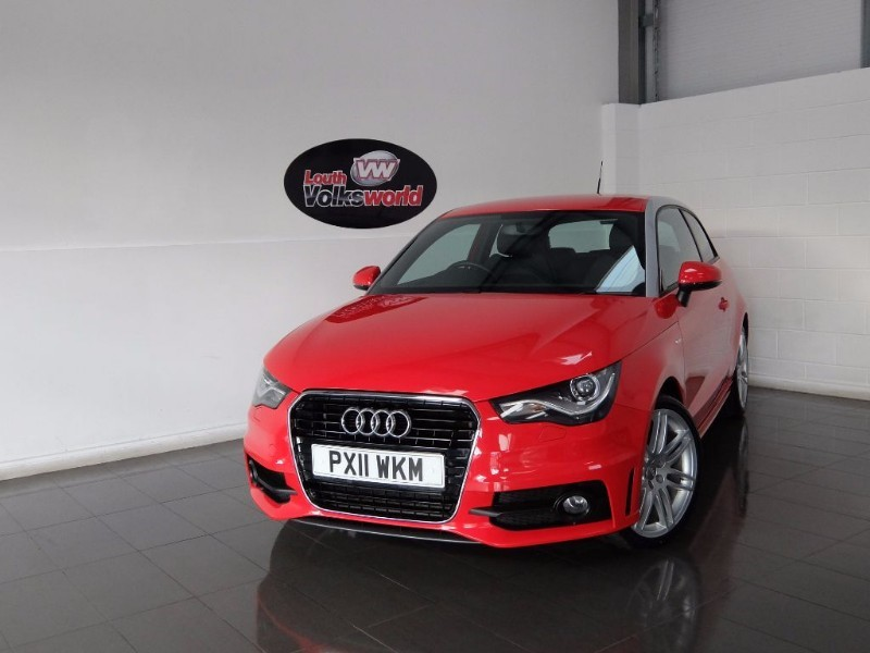used Audi A1 TFSI S LINE 3DR AUTOMATIC in lincolnshire-for-sale