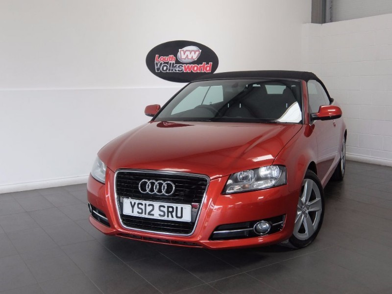 used Audi A3 TDI SPORT 2DR CONVERTIBLE in lincolnshire-for-sale