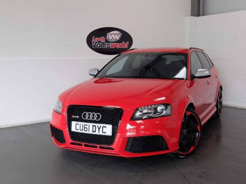 used Audi A3 RS3 QUATTRO 5DR SAT NAV FULL LEATHER INTERIOR in lincolnshire-for-sale
