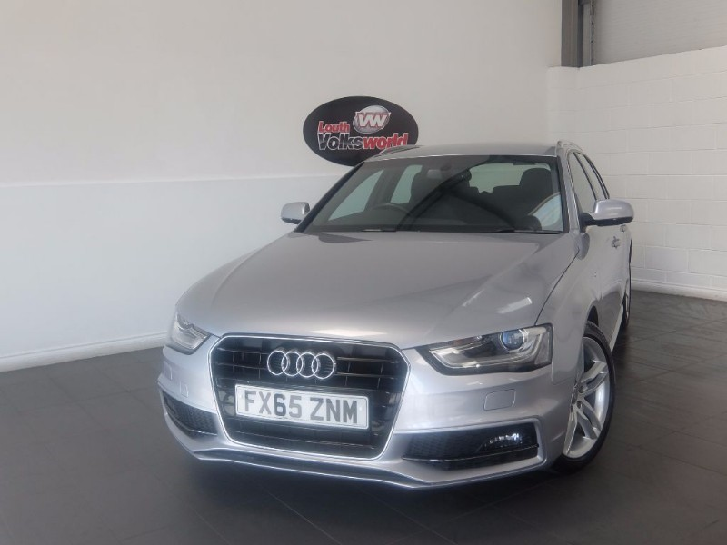 used Audi A4 Avant TDI S LINE 5DR AUTOMATIC SAT NAV FULL LEATHER INTERIOR in lincolnshire-for-sale