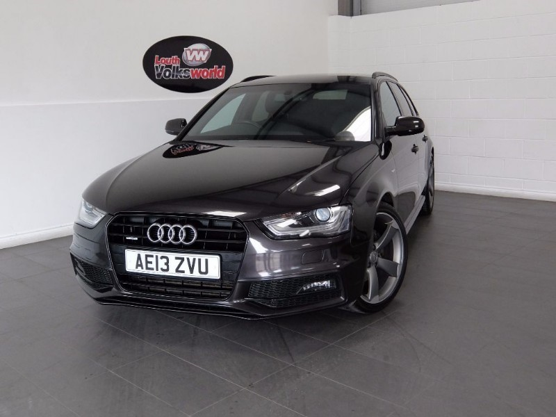 used Audi A4 Avant TDI QUATTRO S LINE BLACK EDITION S/S FULL LEATHER in lincolnshire-for-sale