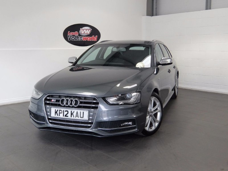 used Audi A4 S4 AVANT QUATTRO FACE LIFT HUGE SPEC S4 SUPER SPORTS SEAT, TECHNOLOGY PACK, in lincolnshire-for-sale