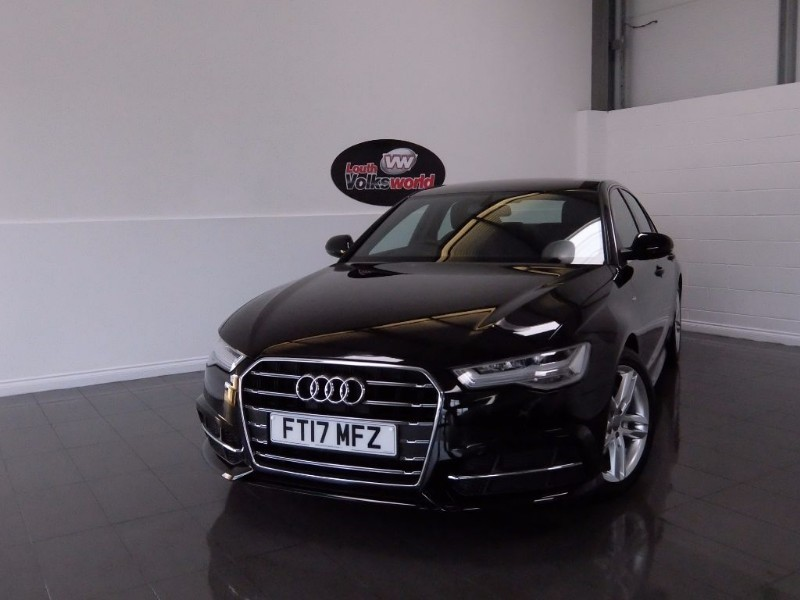 used Audi A6 TDI S LINE ULTRA 4DR SAT NAV FULL LEATHER INTERIOR in lincolnshire-for-sale