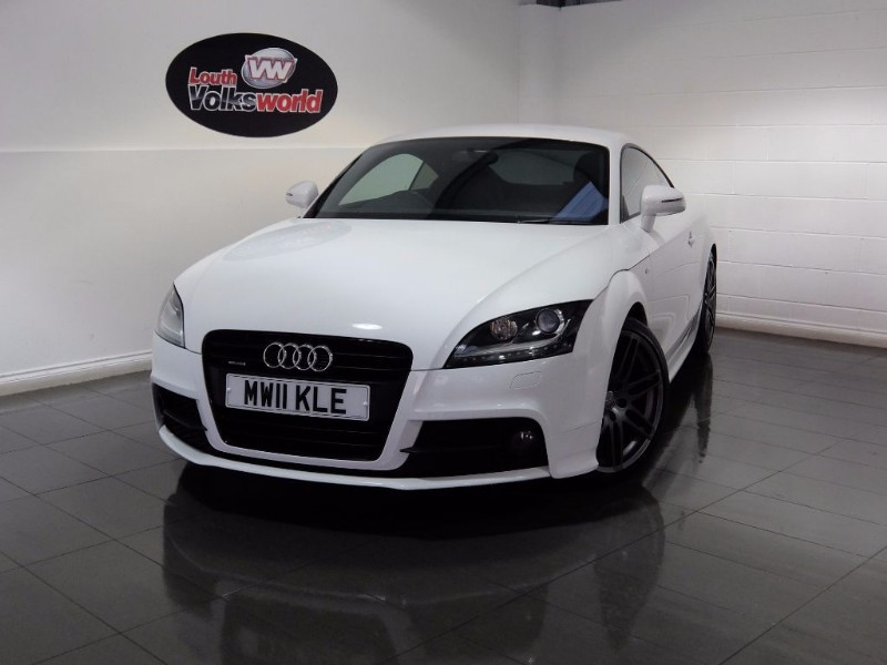 used Audi TT TDI QUATTRO S LINE BLACK EDITION in lincolnshire-for-sale
