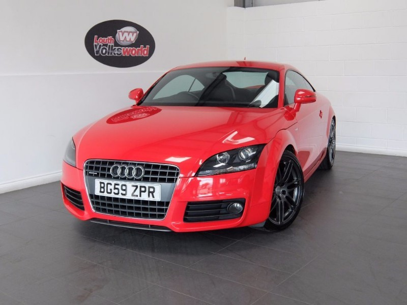 used Audi TT TFSI S-LINE 3DR QUATTRO AUTOMATIC in lincolnshire-for-sale