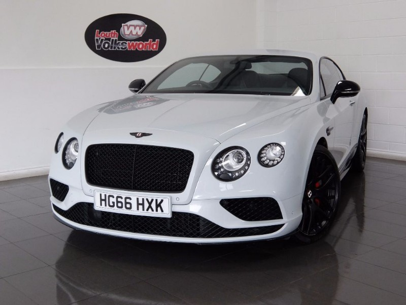 used Bentley Continental GT V8 S MDS MULLINER DRIVING SPECIFICATION in lincolnshire-for-sale