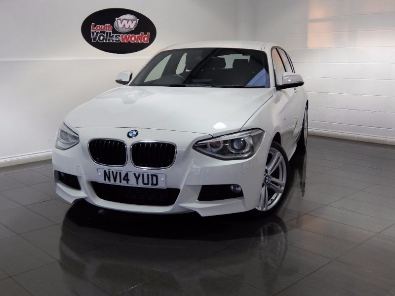 used BMW 116d M SPORT 5DR £30 P/YEAR TAX in lincolnshire-for-sale