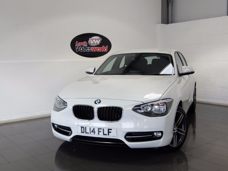 used BMW 116i SPORT 5DR SAT NAV in lincolnshire-for-sale