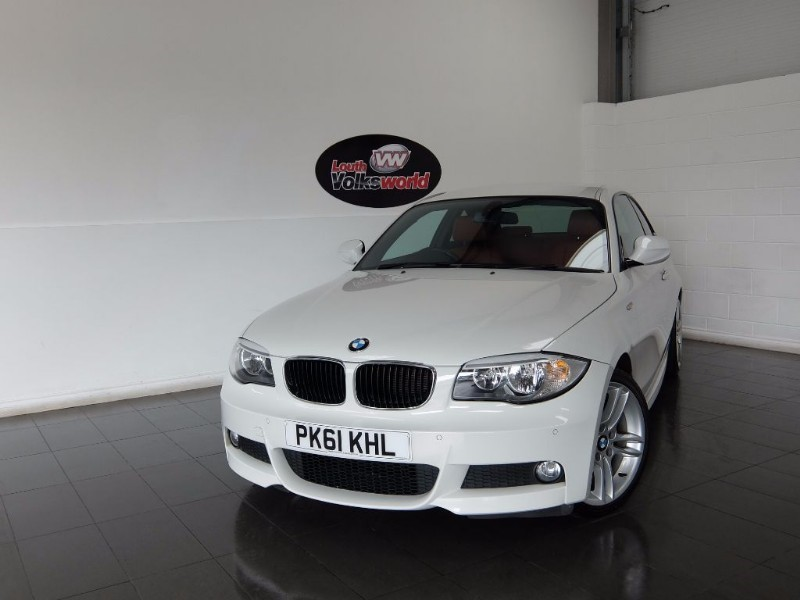 used BMW 118d M SPORT 4DR FULL LEATHER INTERIOR in lincolnshire-for-sale