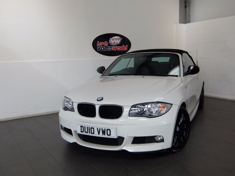 used BMW 118i M SPORT 2DR CONVERTIBLE in lincolnshire-for-sale