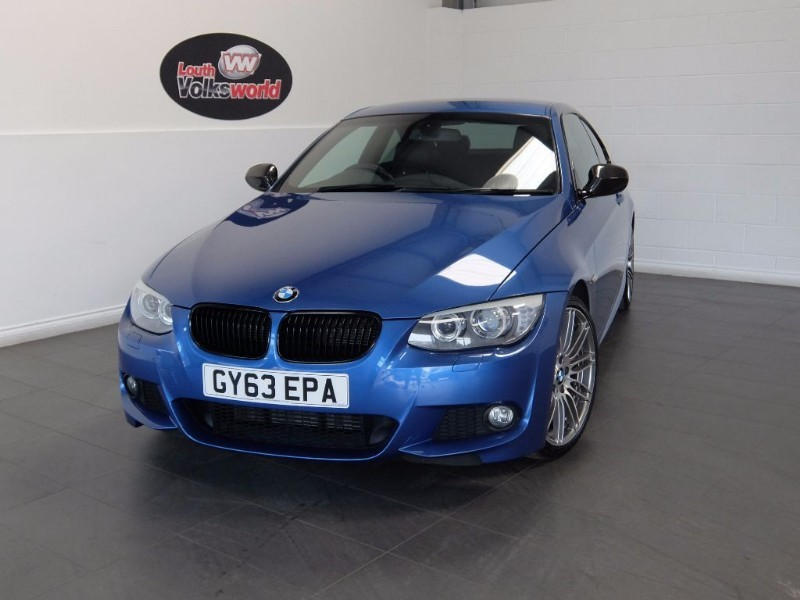 used BMW 320d M SPORT NAV FULL LEATHER XENONS  in lincolnshire-for-sale