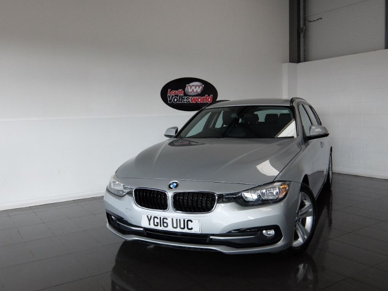 used BMW 320d ED SPORT 5DR TOURING AUTOMATIC SAT NAV in lincolnshire-for-sale