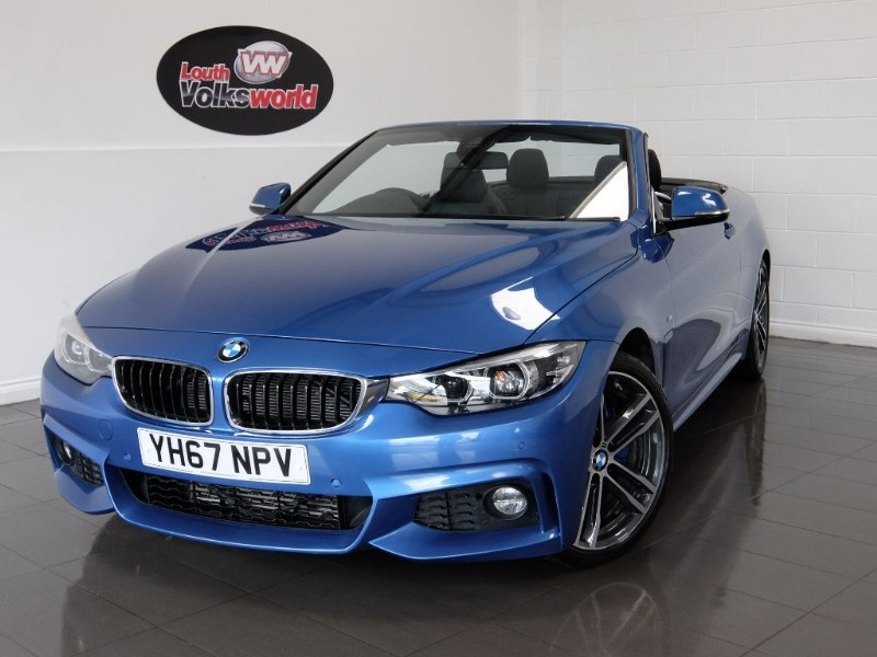 used BMW 420d M SPORT PLUS PACK PROFESSIONAL MEDIA ADVANCED PARKING in lincolnshire-for-sale