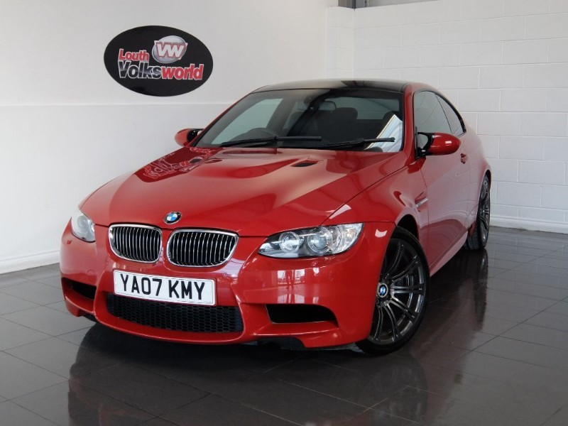 used BMW M3 M3 SAT NAV EDC LOW MILES in lincolnshire-for-sale