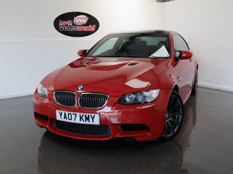 used BMW M3 3DR FULL SERVICE HISTORY SAT NAV FULL LEATHER INTERIOR in lincolnshire-for-sale