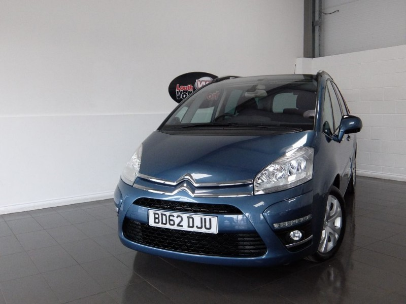 used Citroen C4 HDI GRAND PICASSO 5DR AUTOMATIC 7 SEATS in lincolnshire-for-sale
