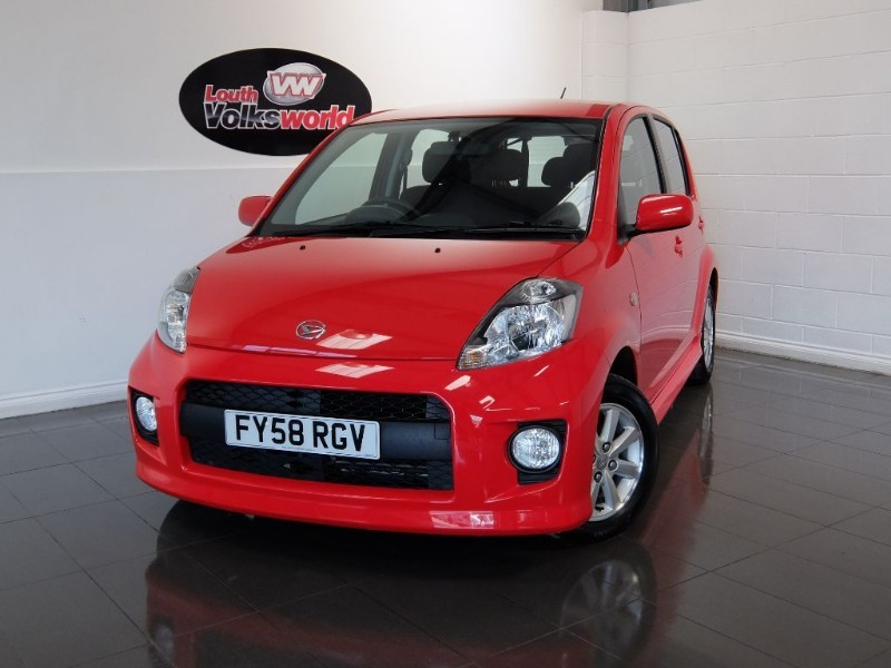 used Daihatsu Sirion SX 3DR AUTOMATIC in lincolnshire-for-sale