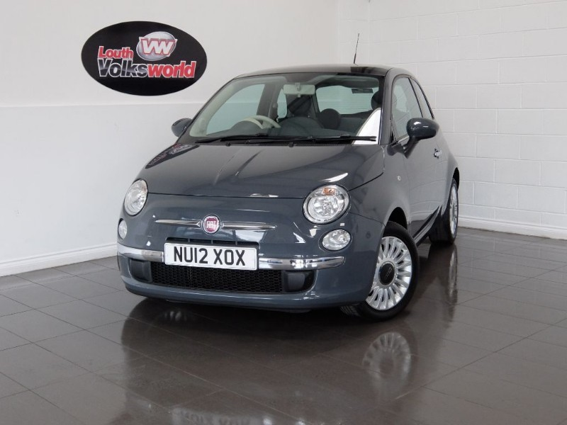 used Fiat 500 LOUNGE 3DR AIR CON £30 P/YEAR TAX in lincolnshire-for-sale