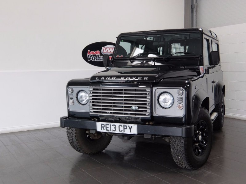 used Land Rover Defender 90 TD XS STATION WAGON NO VAT  in lincolnshire-for-sale