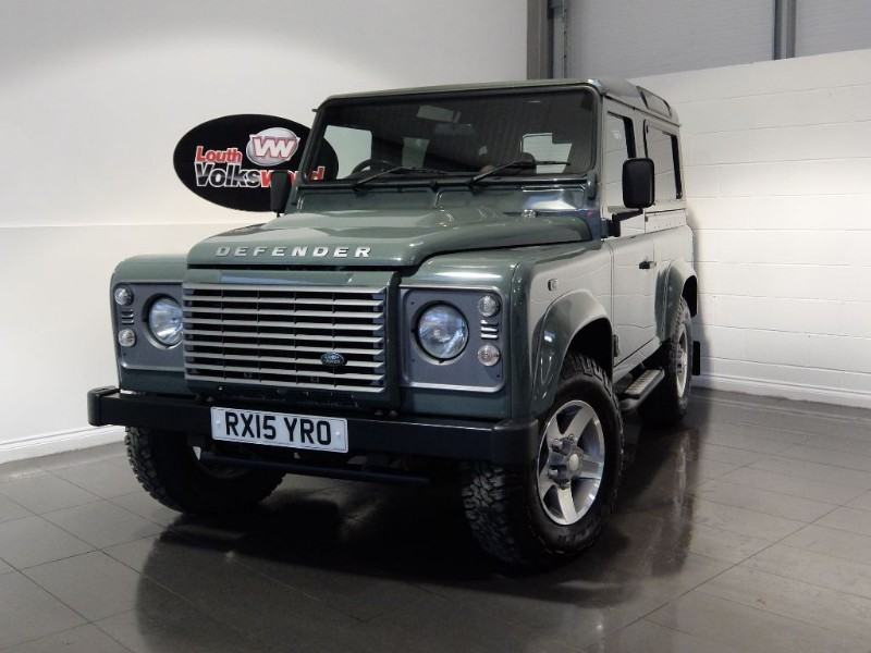 used Land Rover Defender 90 TD XS STATION WAGON BIG SPEC PREMIUM SEATS in lincolnshire-for-sale