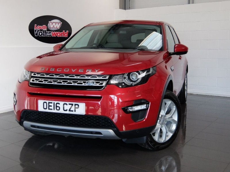 used Land Rover Discovery Sport TD4 5DR HSE AUTOMATIC in lincolnshire-for-sale