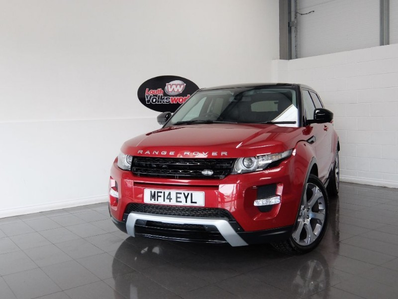 used Land Rover Range Rover Evoque SD4 DYNAMIC LUX 5DR SAT NAV TV in lincolnshire-for-sale