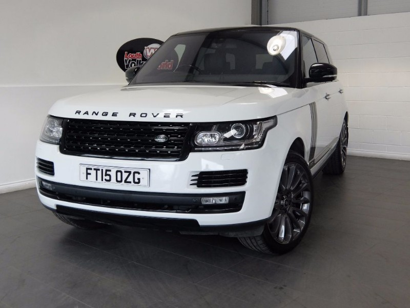 used Land Rover Range Rover SDV8 AUTOBIOGRAPHY LWB HUGE SPEC, BLACK PACK, SIDE STEPS. in lincolnshire-for-sale