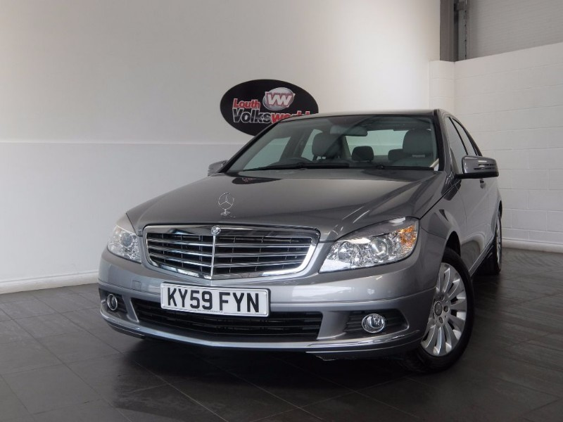 used Mercedes C200 CDI ELEGANCE 4DR AUTOMATIC SAT NAV FULL LEATHER INTERIOR in lincolnshire-for-sale