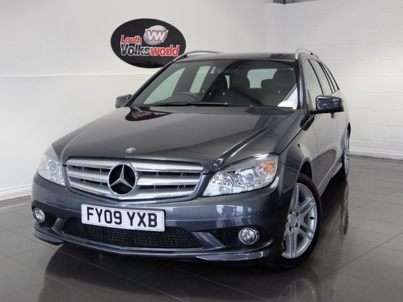 used Mercedes C220 CDI SPORT 1 OWNER FROM NEW in lincolnshire-for-sale