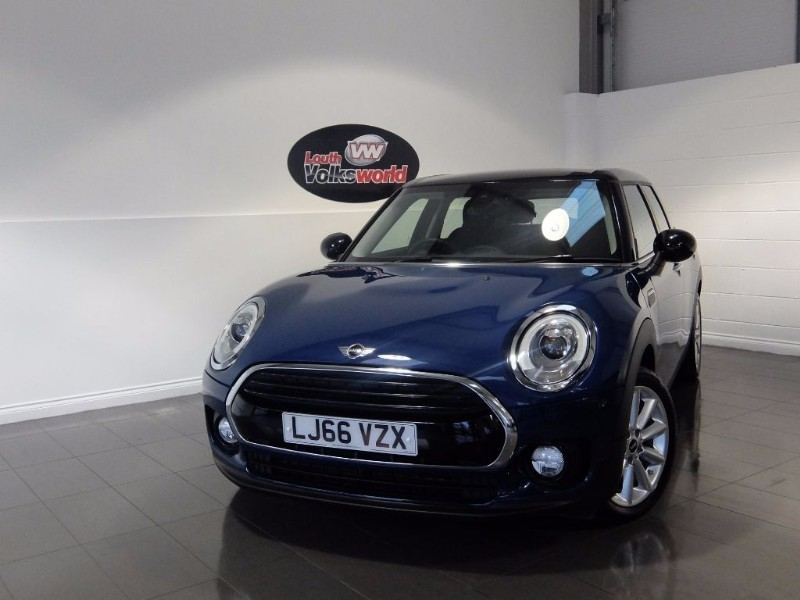 used MINI Clubman COOPER D 5DR SAT NAV HALF LEATHER FRONT AND REAR PARK ASSIST in lincolnshire-for-sale