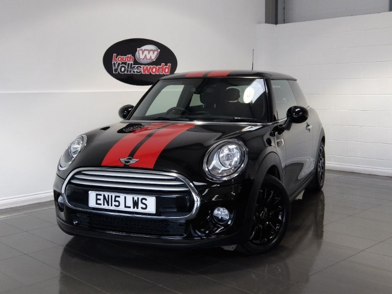 used MINI Hatch COOPER D 3DR SAT NAV FULL LEATHER INTERIOR in lincolnshire-for-sale