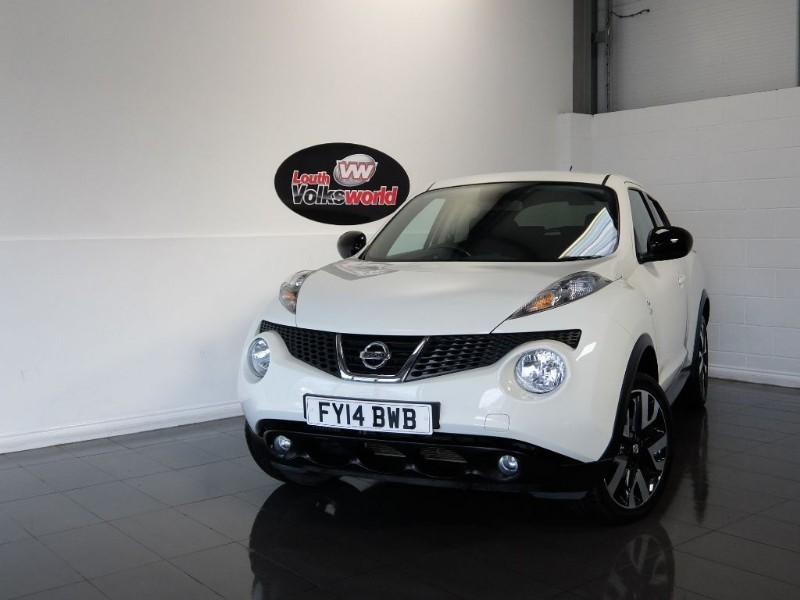 used Nissan Juke DCI N-TEC 5DR SAT NAV in lincolnshire-for-sale