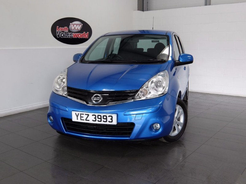 used Nissan Note ACENTA 5DR AUTOMATIC HIGH SEATS in lincolnshire-for-sale