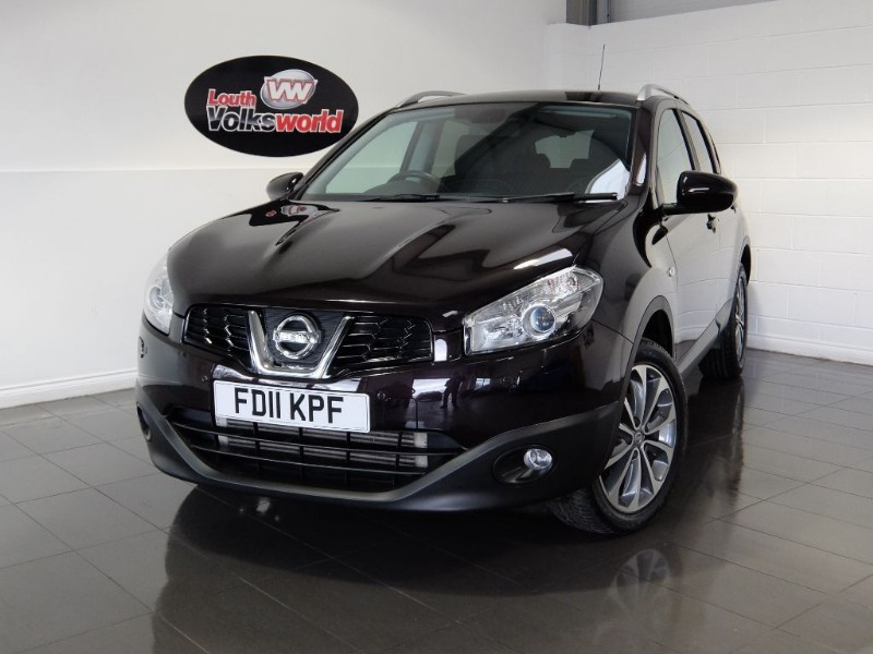 used Nissan Qashqai DCI TEKNA 5DR 4X4 SAT NAV FULL LEATHER INTERIOR  in lincolnshire-for-sale