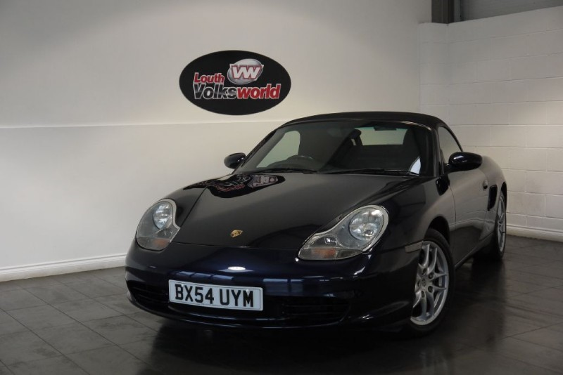used Porsche Boxster 986 2.7 CONVERTIBLE FULL SERVICE HISTORY in lincolnshire-for-sale