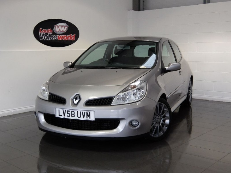 used Renault Clio RENAULTSPORT 197 in lincolnshire-for-sale
