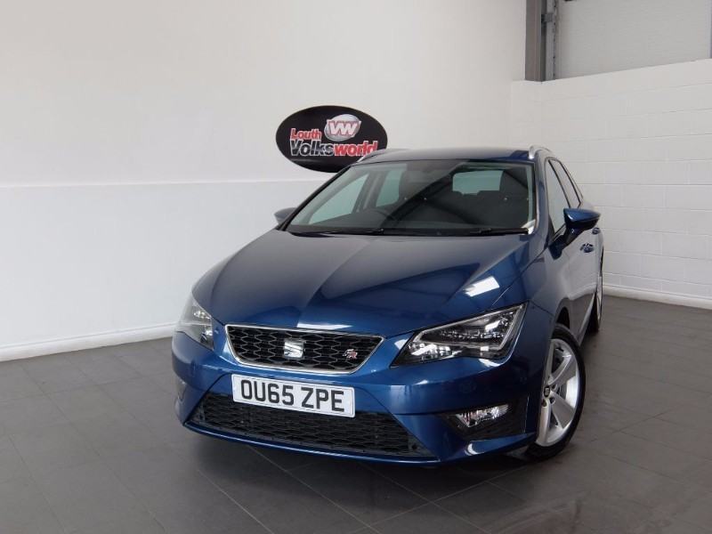 used SEAT Leon TDI FR 5DR ESTATE SAT NAV  in lincolnshire-for-sale