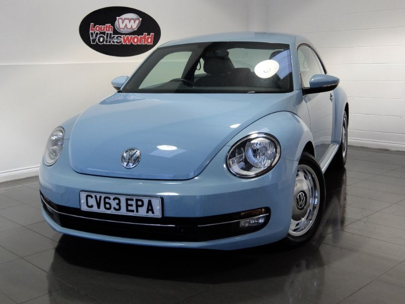 used VW Beetle DESIGN TDI in lincolnshire-for-sale