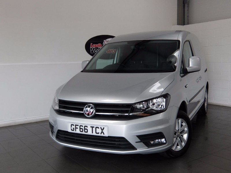 used VW Caddy TDI HIGHLINE C20 3DR PANEL VAN in lincolnshire-for-sale