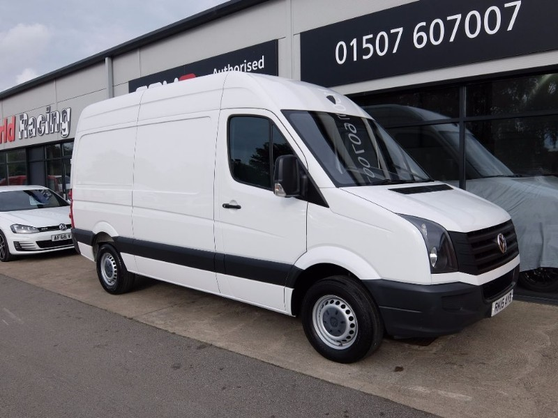 used VW Crafter CR35 TDI HIGH ROOF STARTLINE in lincolnshire-for-sale
