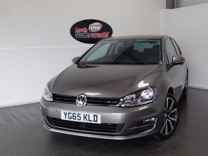 used VW Golf TDI GT 3DR SAT NAV in lincolnshire-for-sale