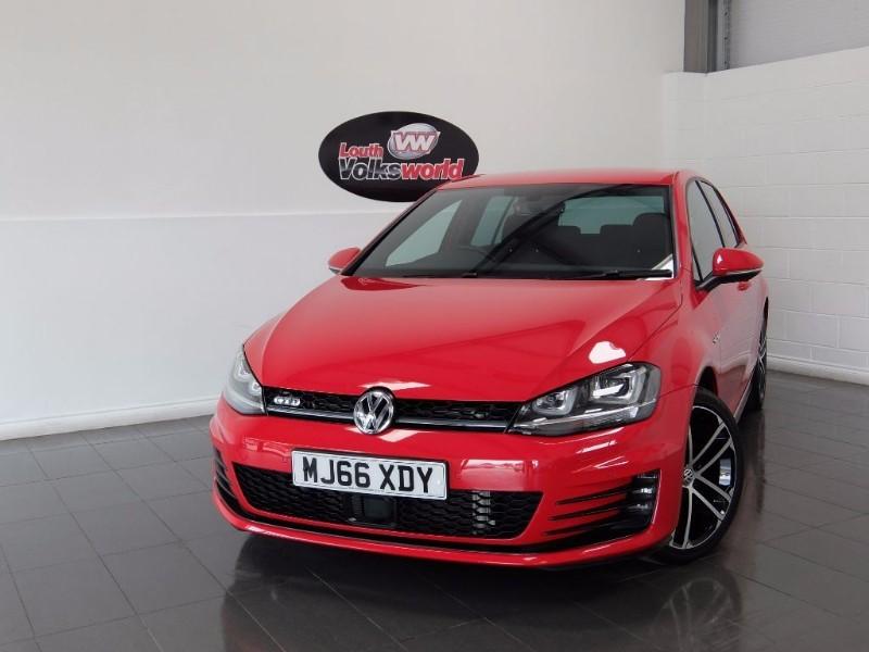 used VW Golf GTD 5DR SAT NAV KEYLESS START in lincolnshire-for-sale
