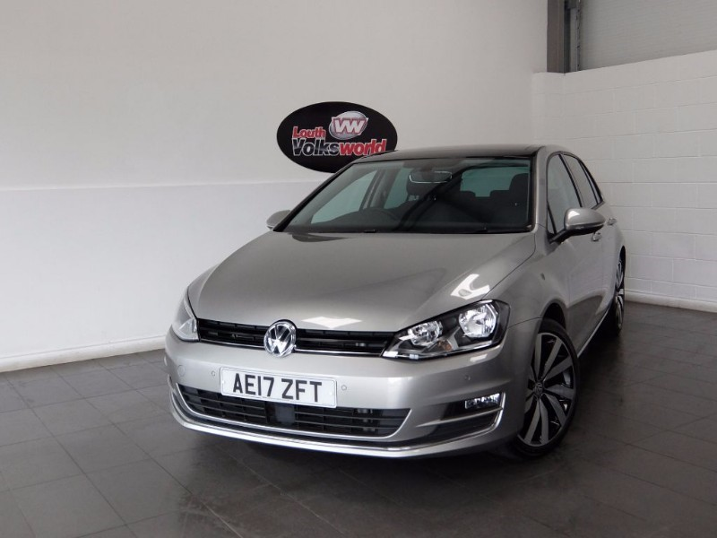 used VW Golf TDI GT EDITION 5DR SAT NAV in lincolnshire-for-sale