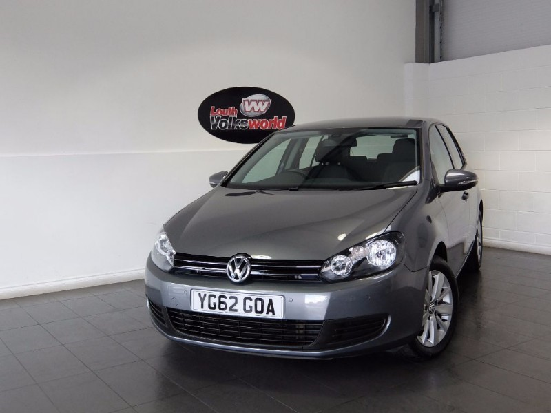 used VW Golf TDI MATCH 5DR in lincolnshire-for-sale