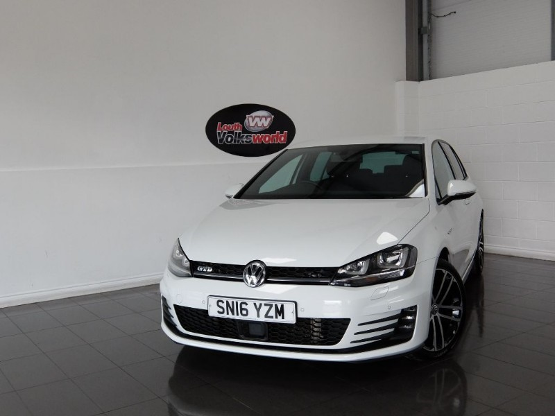used VW Golf TDI GTD 5DR SAT NAV KEYLESS START in lincolnshire-for-sale