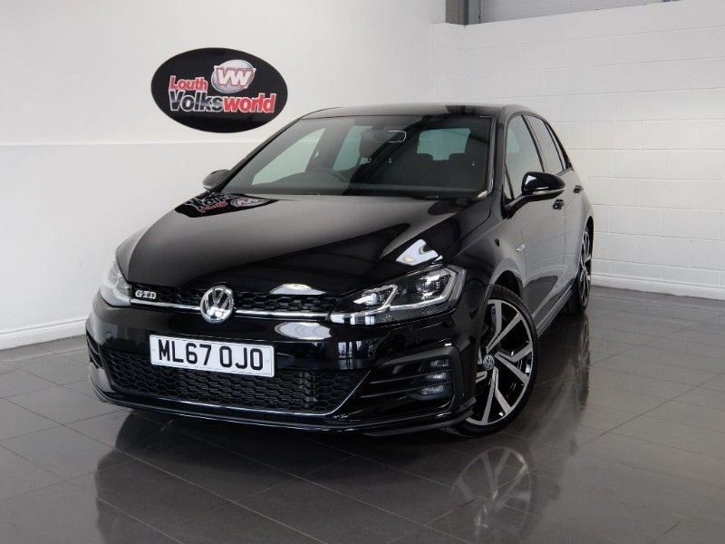 used VW Golf TDI GTD 5DR SAT NAV in lincolnshire-for-sale