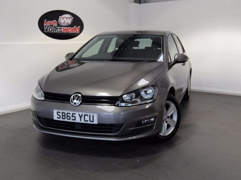 used VW Golf MATCH TSI BLUEMOTION TECHNOLOGY in lincolnshire-for-sale