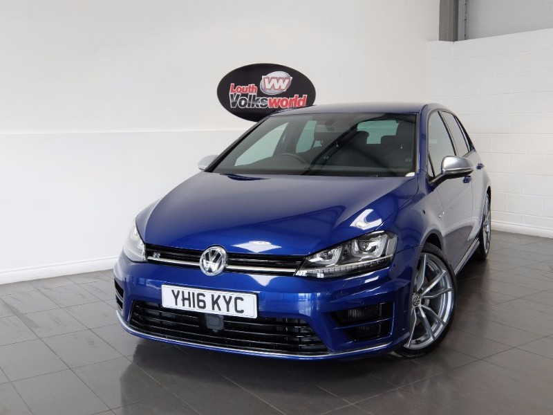 used VW Golf R 5DR AUTOMATIC SAT NAV FULL LEATHER INTERIOR in lincolnshire-for-sale